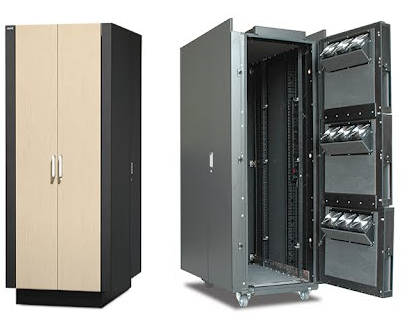 APC NetShelter CX 38U Secure Soundproofed Server Room